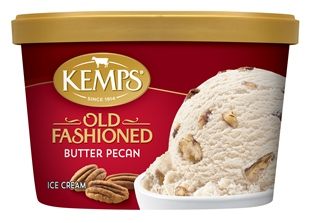 (1.5 qt.) Old Fashioned Butter Pecan Ice Cream