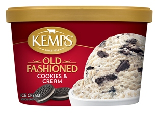(1.5 qt.) Old Fashioned Cookies 'n Cream Ice Cream
