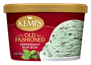 (1.5 qt.) Old Fashioned Peppermint Bon Bon Ice Cream