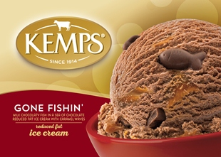 (56 oz.) Gone Fishin Reduced Fat Ice Cream