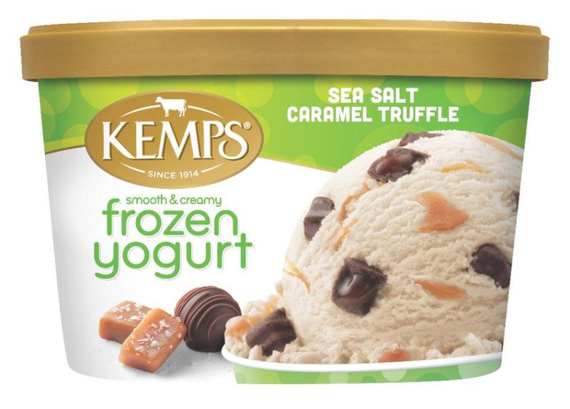 Sea Salt Caramel Truffle Frozen Yogurt (1.5qt.)
