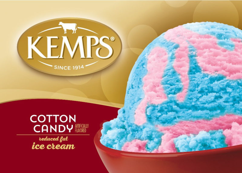 (56 oz.) Cotton Candy Reduced Fat Ice Cream