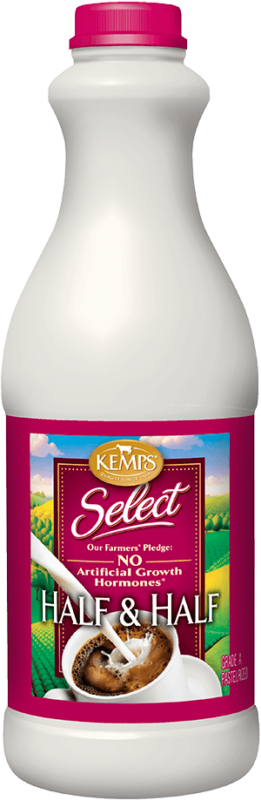 Select Half and Half (plastic quart)