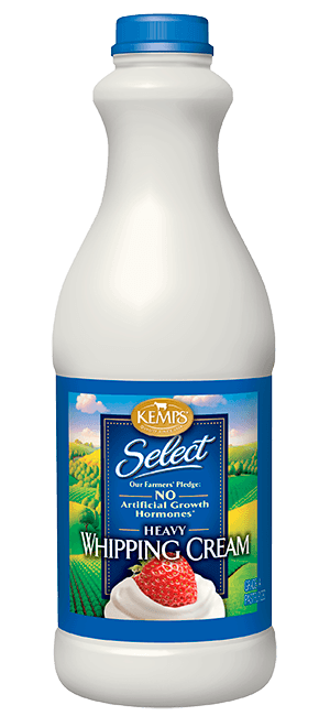 Select Whipping Cream (plastic quart)
