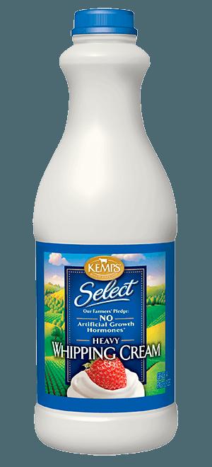 Select Whipping Cream (plastic quart)