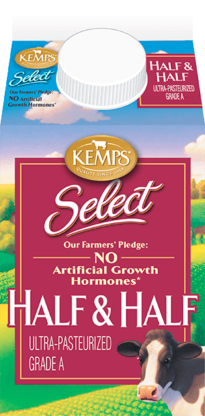 Select Half and Half Ultra-Pasteurized (paper pint)