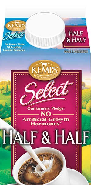 Select Half and Half Fresh (paper pint)
