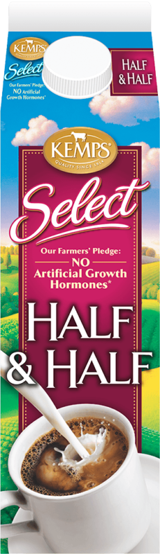 Select Half and Half Fresh (paper quart)