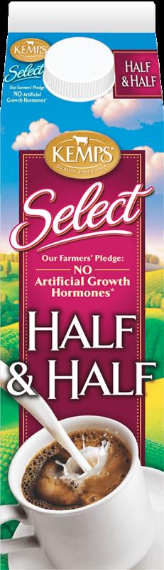 Select Half and Half Fresh (paper quart)