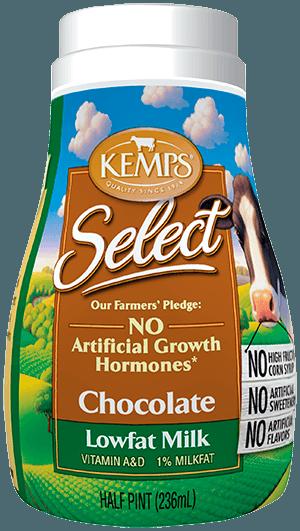 Chocolate 1% Low Fat Select Milk (Plastic Half Pint)
