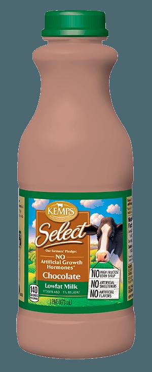 Chocolate 1% Low Fat Select Milk (Pint)