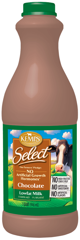Chocolate 1% Lowfat Select Milk (Quart)