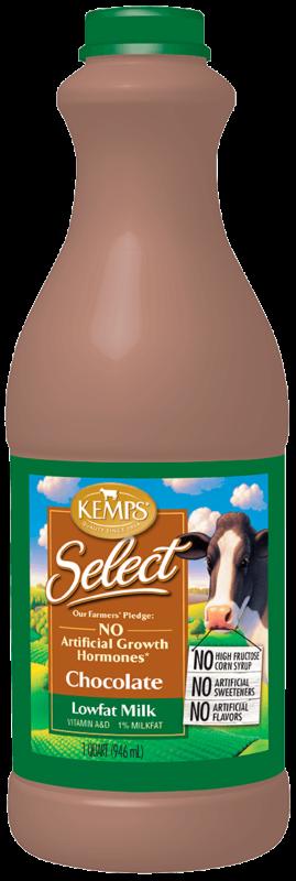 Chocolate 1% Low Fat Select Milk (Quart)