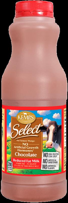 Chocolate Reduced Fat Select Milk (Plastic Pint)