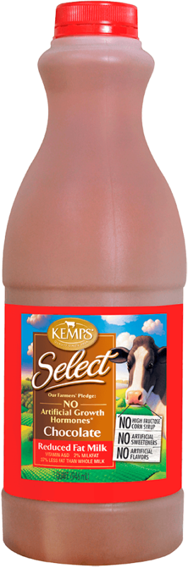 Chocolate Reduced Fat Select Milk (Plastic Quart)