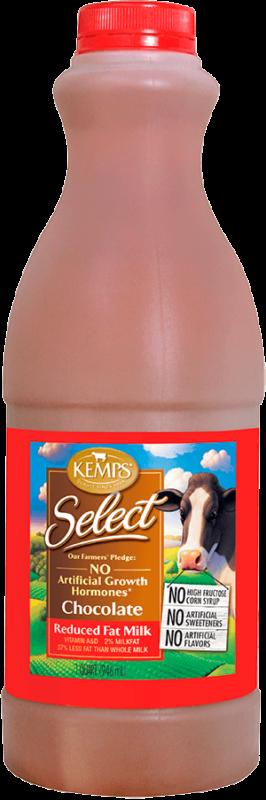 Chocolate Reduced Fat Select Milk (Plastic Quart)
