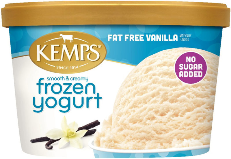 No Sugar Added/Fat Free Frozen Yogurt Vanilla (1.5qt.)
