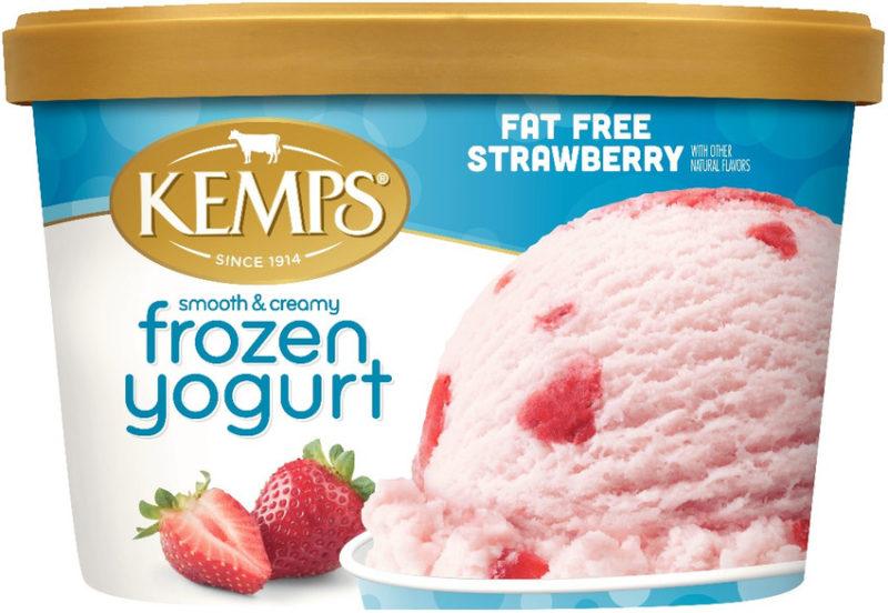 Fat Free Strawberry  Frozen Yogurt (1.5qt.)