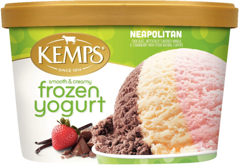 Low Fat Neapolitan Frozen Yogurt (1.5qt.)