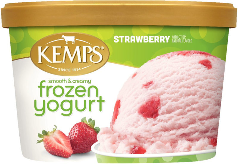 Low Fat Strawberry Frozen Yogurt (1.5qt.)