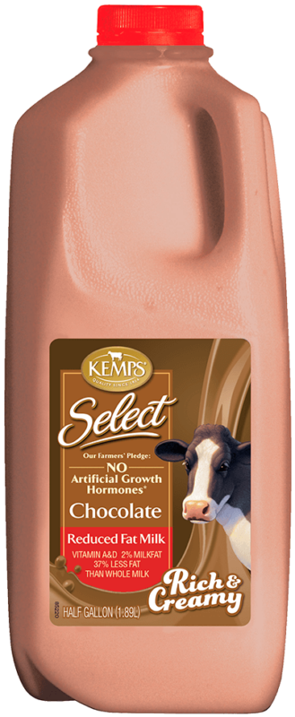Select 2% Chocolate Half Gallon