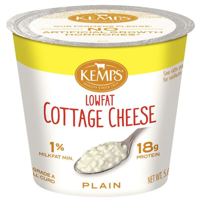 1 Low Fat Cottage Cheese Single Serve 5 64 Oz Kemps