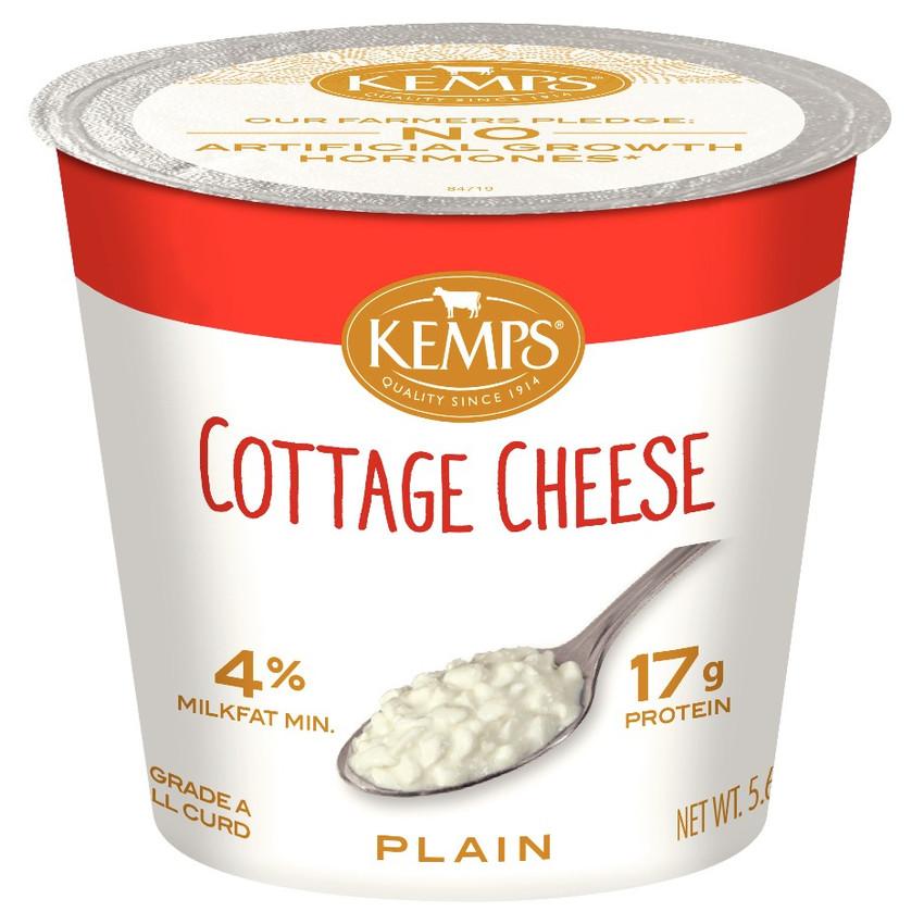 4 Cottage Cheese Single Serve 5 64 Oz Kemps