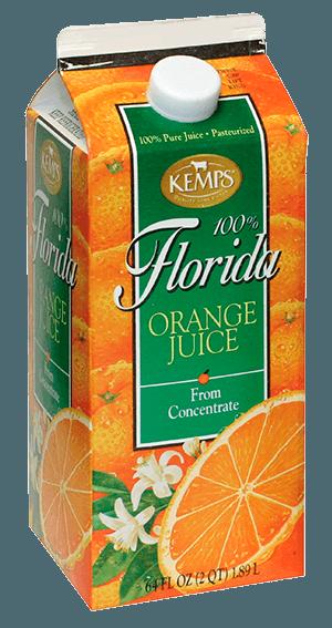 Orange Juice (Paper Half Gallon)