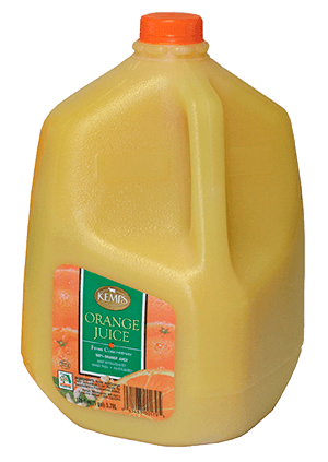Orange Juice (Plastic Gallon)