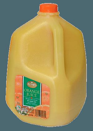 Orange Juice (Plastic Gallon)
