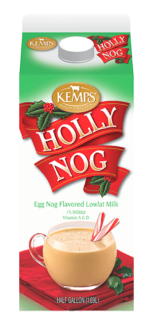 Holly Nog 1% Egg Nog Flavored Milk (Half Gallon)