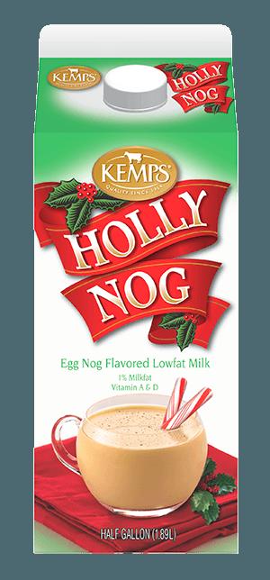 Holly Nog 1% Egg Nog Flavored Milk (Half Gallon)