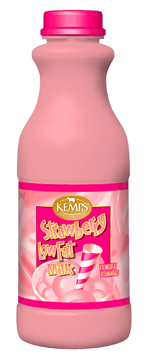 Strawberry 1% Low Fat Milk (Plastic Pint)
