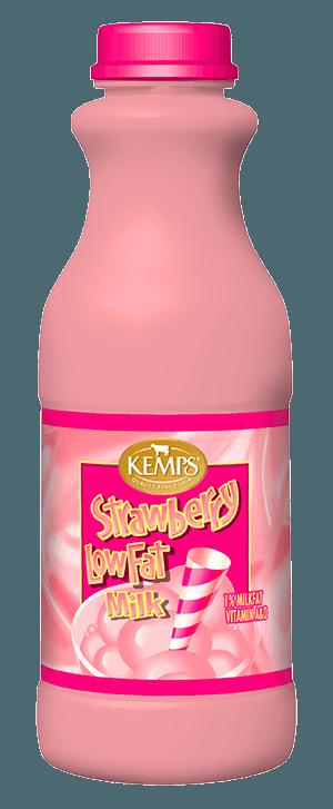 Strawberry 1% Low Fat Milk (Plastic Pint)