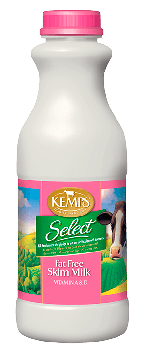 Fat Free Skim Select Milk (Plastic Pint)