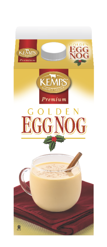 Premium Golden Egg Nog (Paper Half Gallon)