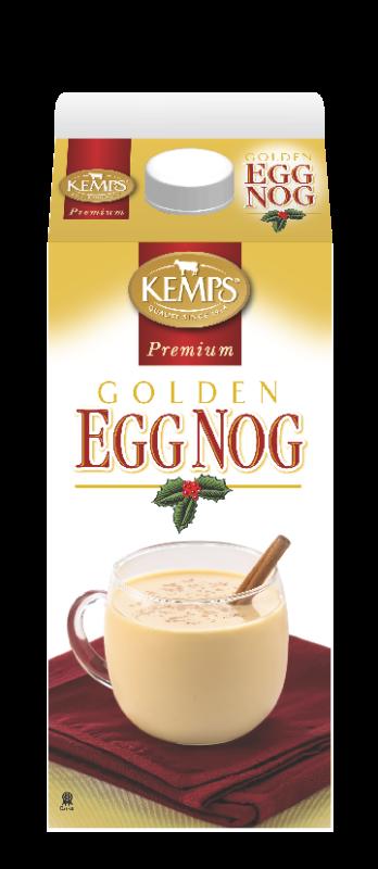 Premium Golden Egg Nog (Paper Half Gallon)