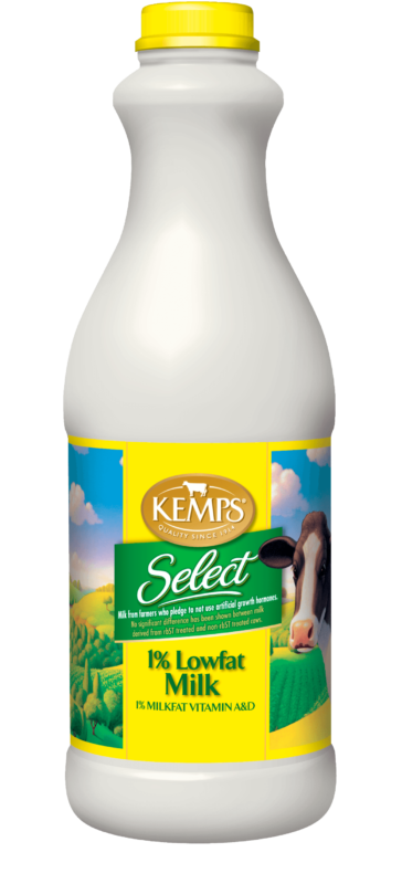 1% Lowfat Select Milk (Plastic Quart)