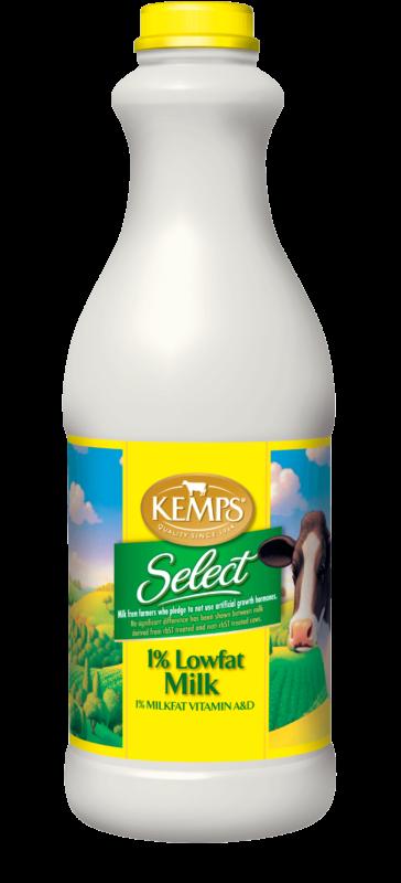 1% Low Fat Select Milk (Plastic Quart)