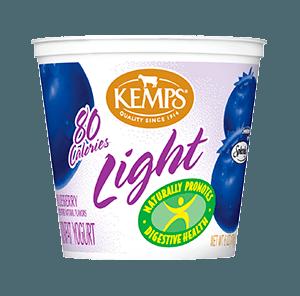 Light Yogurt (80 Calorie): Blueberry (6 oz.)