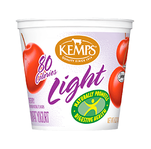 Light Yogurt (80 Calorie): Cherry (6 oz.)