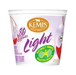 Light Yogurt (80 Calorie): Cherry Vanilla (6 oz.)