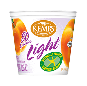 Light Yogurt (80 Calorie): Peach (6 oz.)