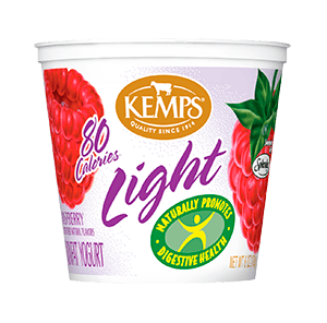 Light Yogurt (80 Calorie): Raspberry (6 oz.)