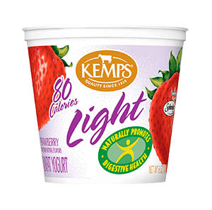 Light Yogurt (80 Calorie): Strawberry (6 oz.)