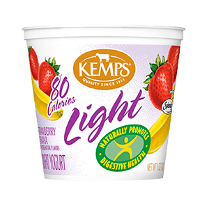 Light Yogurt (80 Calorie): Strawberry Banana (6 oz.)