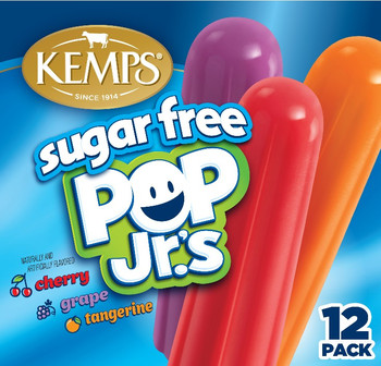 (12 Pack) Kemps Sugar Free Pop Jr.'s
