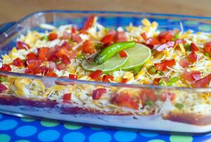 Super-Fast Taco Dip