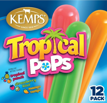 (12 pack) Kemps Tropical Pops