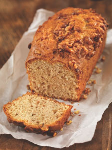 Watkins Vanilla Egg Nog Walnut Crunch Bread